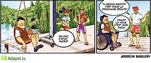 Quand la BD raconte le monde du Handicap